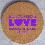 new design wedding favor personalized beer coaster cork coaster 173