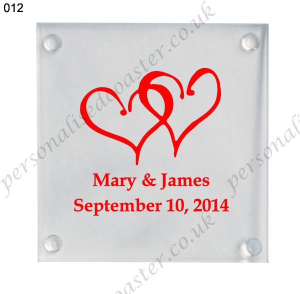 promotional gifts personalized glass coasters 012