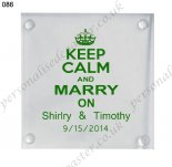 custom square coaster wedding f