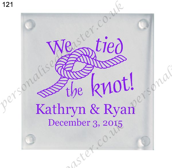 table decoration wedding glass coasters wedding favor coaster 121